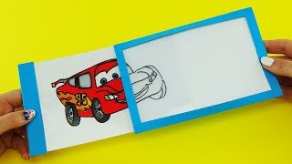 Disney Cars 3 Magic Slider Card with McQueen | DIY Gift Card for Kids