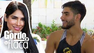 Alejandra Espinoza le da una sorpresa a su hermano al integrarse a Reto 4 Elementos | GYF