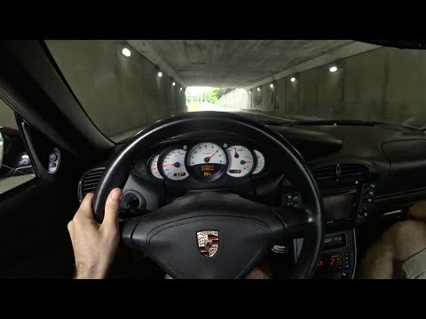 2004 Porsche 911 Turbo X50 City Drive -Tedward POV Test Drive (Binaural Audio)