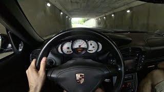 2004 Porsche 911 Turbo X50 City Drive -Tedward POV Test Drive (Binaural Audio)