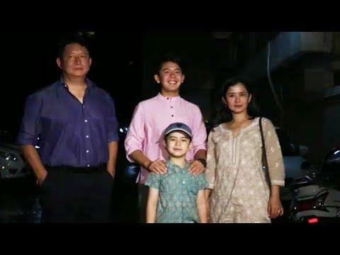 Matin Rey Tangu With Family At Salman's Eid Iftar Party 2017 | Galaxy Apartment