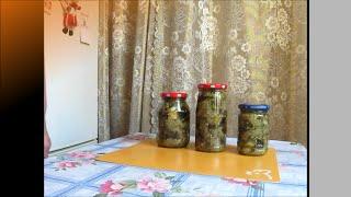 Закуска из баклажан, напоминающая вкус маринованных грибов