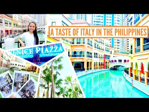 Venice Grand Canal | McKinley Hill,Taguig,Philipppines