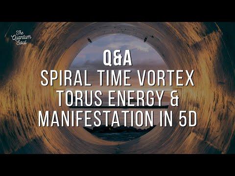 Torus Energy, Time is a Vortex, Manifestation in 5D