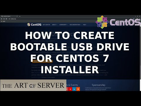 How To Create Bootable USB Drive For CentOS 7 Installer