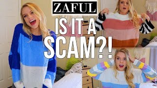 Zaful Haul!!! IS IT A SCAM!?!??? Non-Sponsored Review! screenshot 2