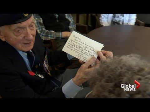 Veteran Ken Sturdy gets thank-you note from 'Dunkirk' director Christopher Nolan