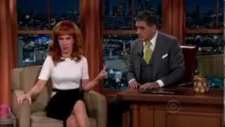 Kathy Griffin and Haley Joel Osment on Craig Ferguson Show