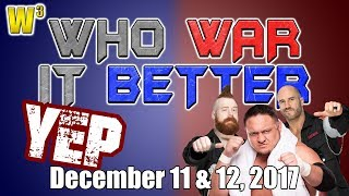 "The Shield vs. JoBar! The ""Yep"" Movement! 