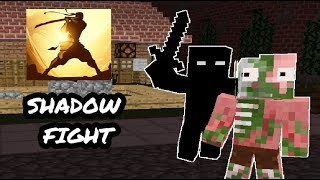 - Monster School Shadow Fight CHALLENGE Minecraft Animation
