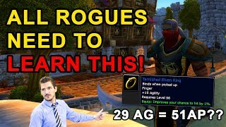 All Rogues NEED to Learn This! - Stat Priority & Gear Selection Explained