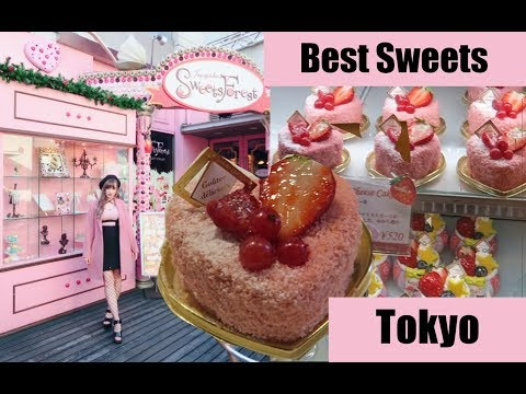 My Favorite Tokyo Sweets! Sweets Forest in Jiyugaoka!