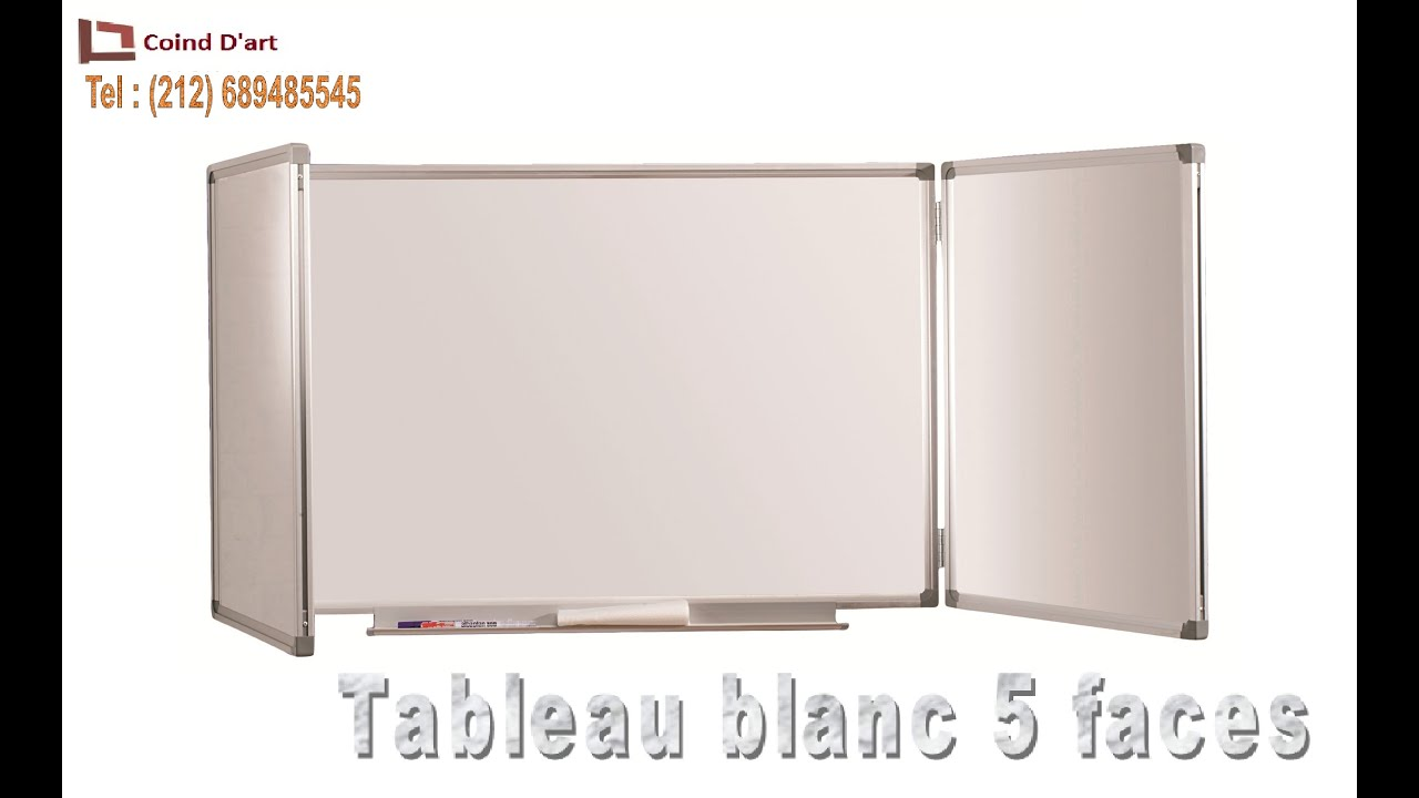 Tableau blanc magn tique youtube for Tableau magnetique blanc ikea