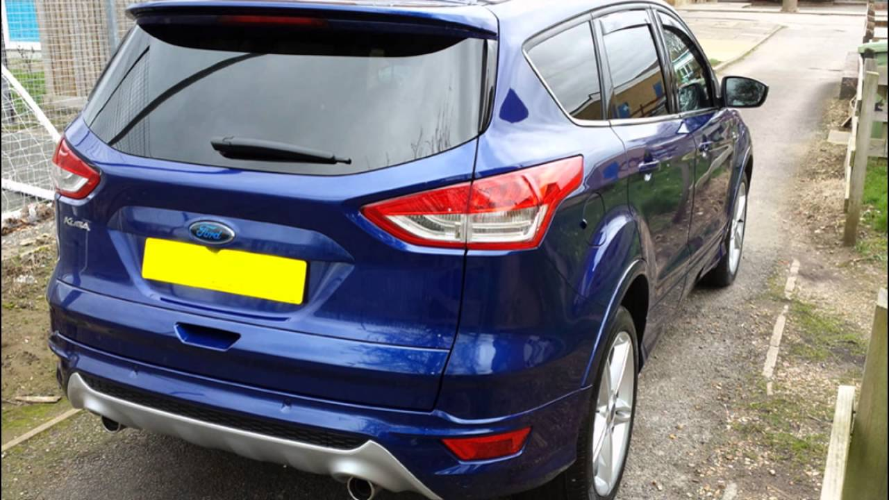 2016 Ford Kuga Blazer Blue - YouTube