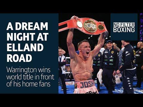 Goosebumps! Elland Road erupts as Josh Warrington wins world title - No Filter Boxing