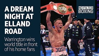 Goosebumps! Elland Road erupts as Josh Warrington wins world title - No Filter Boxing