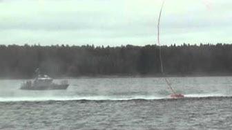 Kansallinen Balex Delta -öljyntorjuntaharjoitus 28.8.2012: pikapuomitus
