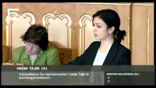 Hadia Tajik: Faglig sterke elever og fellesskolen - sluttinnlegg