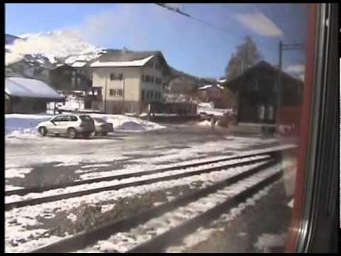 Swiss Trains - RhB & SBB