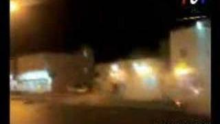 Drifting Accident in Saudi Arabia Ejects Driver If you look close, ...