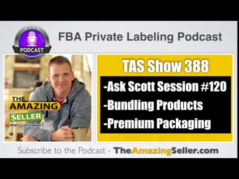 How Do I Bundle My Products, Premium Pack Them & Use Research Tools? – TAS 388: The Amazing Seller