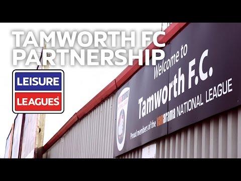 Tamworth Football Club Partnership | Leisure Leagues