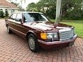 SOLD - 1989 Mercedes-Benz 560SEL Sedan for sale by Auto Haus of Naples AutoHausFL.com