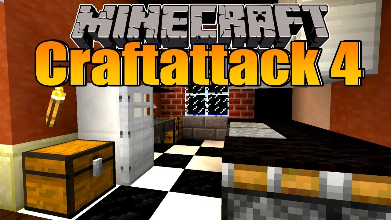 eine moderne k che minecraft craftattack 4 folge 67 youtube. Black Bedroom Furniture Sets. Home Design Ideas