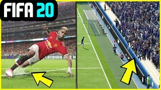 NEW FEATURES WE WANT IN FIFA 20 (Moving Crowd, Slipping & More)