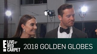 Armie Hammer Details James Franco's Exclusive Globes Dinner | E! Red Carpet & Live Events
