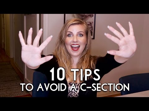 10 Tips to Avoid a C-Section Plus Some