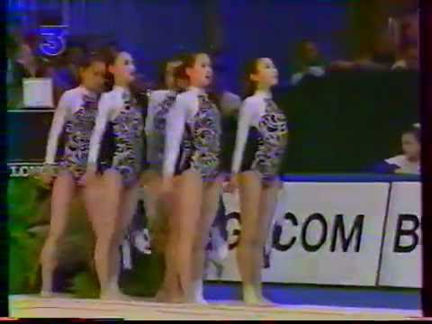 1992 RG Worlds Brussels groups 6 ribbons EF (French coverage)