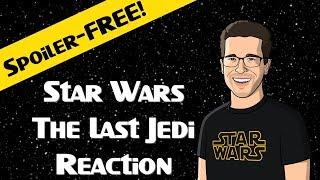 LIVE: Star Wars The Last Jedi Reaction!