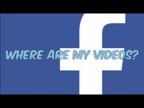 Facebook Mobile App: Where/How To Find Your VIDEOS Tutorial