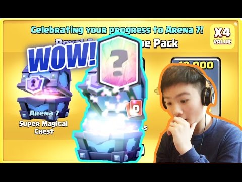 MY FIRST LEGENDARY!?! | ARENA 7 SPECIAL OFFER | Clash Royale