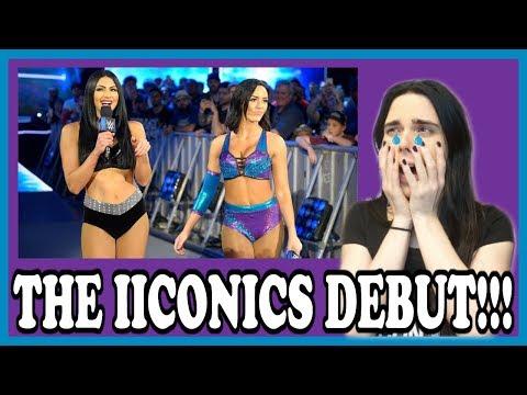 WWE SMACKDOWN 4/10/18: THE IICONICS DEBUT...
