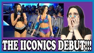 WWE SMACKDOWN 4/10/18: THE IICONICS DEBUT LIVE REACTION