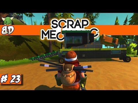 Scrap Mechanic: Mining Dredge!