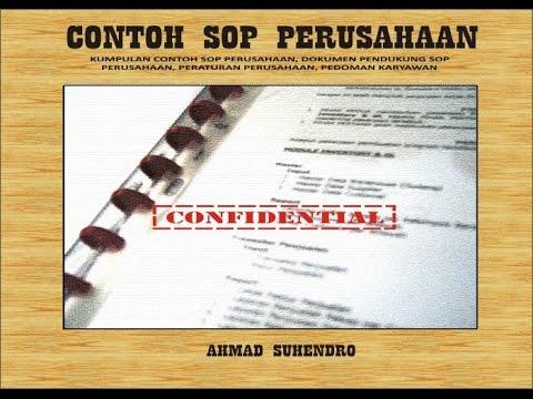 Contoh Sop Perusahaan Dalam Format Docx Tinggal Edit Sesuai