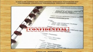 Contoh Sop Perusahaan Dalam Format Docx Tinggal Edit Sesuai Kebutuhan
