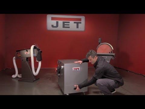 JET JDC-501 Metal Dust Collector Cabinet @ Trick-Tools!!