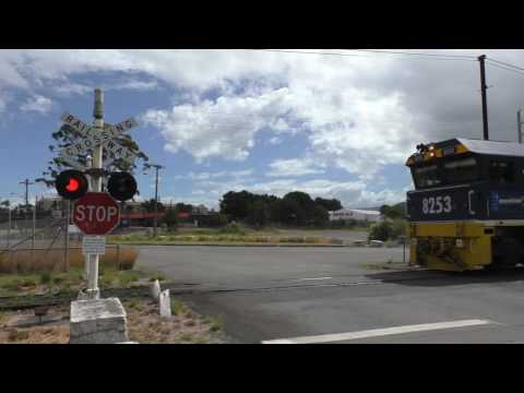 Private Level Crossing, Unanderra NSW, Australia.