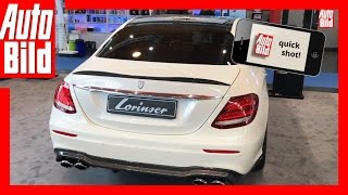 Quickshot Lorinser E 50 4Matic (2017) - Getunter Benz