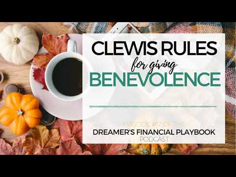 Clewis Rules for Giving Benevolence