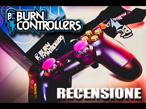 burn controllers recensione ita ps4 youtube. Black Bedroom Furniture Sets. Home Design Ideas