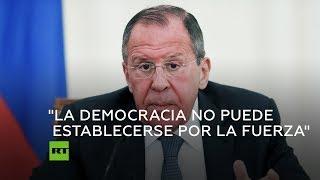 Lavrov, sobre Venezuela:
