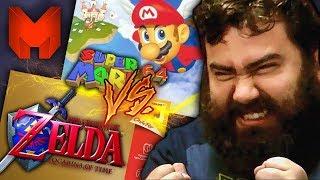 The BEST N64 Games? Super Mario 64 vs Legend of Zelda: Ocarina of Time - Madness