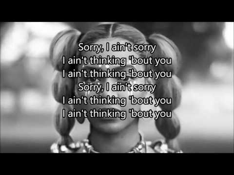 Beyoncé - Sorry Lyrics
