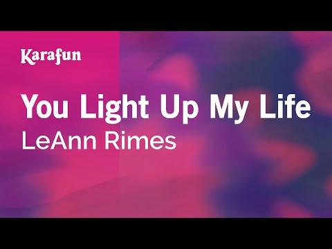 Karaoke You Light Up My Life - LeAnn Rimes *