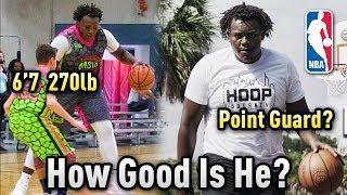 Download Video How GOOD Is 15 Year Old 6'7 270lb Point Guard Ty'Rion Denson ACTUALLY? | Overrated or Future Star? MP3 3GP MP4